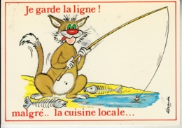 "ALEXANDRE  "" Je Garde La Ligne Malgré...la Cuisine Locale..."" - Alexandre"