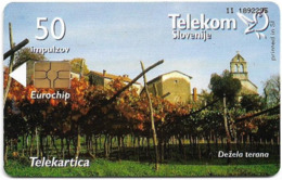 Slovenia - Telekom Slovenije - Dežela Terana - 08.2003, 50Units, 4.996ex, Used - Slovenië