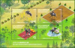 Olympics 2008 - Equestrian - HONGKONG - S/S MNH - Summer 2008: Beijing