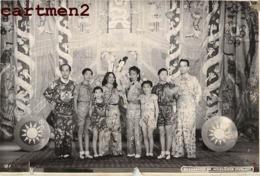ZIRKUS CIRQUE CIRCUS CHINE CHINA BILDBERICHT DR. WEIZSÄCKER STUTTGART SPECTACLE PHOTO ANCIENNE CHINESE CINA - Personalidades Famosas