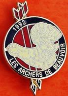 FF...938.......TIR  A L ARC / ARCHERIE /........LES  ARCHERS  DE  BEAUVOIR - Boogschieten