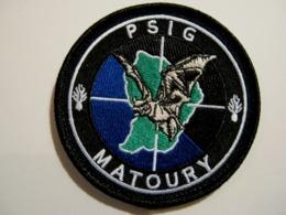 ECUSSON GENDARMERIE NATIONALE LE PSIG MATOURY MCD GUYANE ETAT EXCELLENT SUR VELCROS - Police