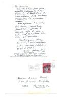 LIEUTENANT ALBERT AMEZ DROZ AUTOGRAPHE ORIGINAL AUTOGRAPH SUISSE AVIATION /FREE SHIPPING REGISTERED - Autogramme & Autographen