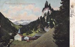 Martinskirche (Vättis) * Calfeusental, Gebirge, Alpen * Schweiz * AK1294 - SG St-Gall