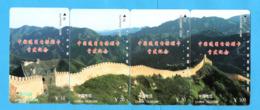 CHINA 4 Tamura Cards PUZZLE - Puzzles