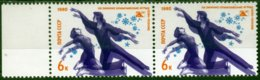 B6162 Russia USSR Olympics 1980 Lake Placid Sport Pair ERROR - Winter 1980: Lake Placid