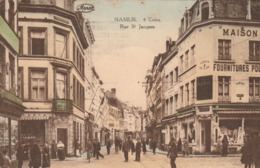 NAMUR 4 COINS RUE ST JACQUES - Namur