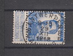 COB 125 Oblitération Centrale ANTWERPEN 8E - 1912 Pellens