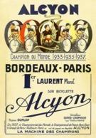 @@@ MAGNET - Alcyon Bordeaux-Paris - Advertising