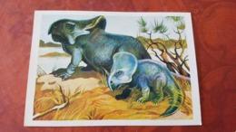 Dinosaur Serie - Old USSR Postcard 1983 - Protoceratops - Altri
