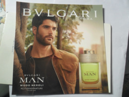 Bulgari Japan Man - Perfume Cards