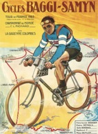 @@@ MAGNET - Baggy-Samyn Tour De France 1923 - Advertising