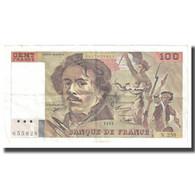 France, 100 Francs, Delacroix, 1995, BRUNEEL, BONARDIN, VIGIER, TTB - 1962-1997 ''Francs''