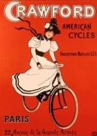 @@@ MAGNET - Crowford American Cycles - Advertising