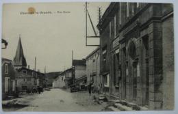 52 - CHARMES LA GRANDE - Rue Haute - Animée Avec Tacots - RARE - Dos Vert - - Autres Communes