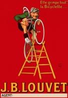 @@@ MAGNET - J.B. Louvet Bicycle - Advertising