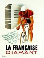 @@@ MAGNET - La Francaise Diamant, Bicycle - Advertising