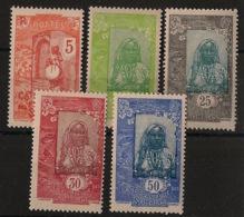 Côte Des Somalis - 1922 - N°Yv. 103 à 107 - Série Complète - Neuf * / MH VF - Neufs
