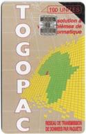 Togo - OPT Togo - Togopac 1, SC7, 100Units, Used - Togo