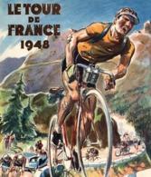 @@@ MAGNET - Le Tour De France 1948, Cycle Race - Advertising
