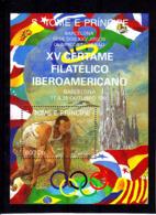Olympics 1992 - Athletics - SAO TOME - S/S MNH - Summer 1992: Barcelona