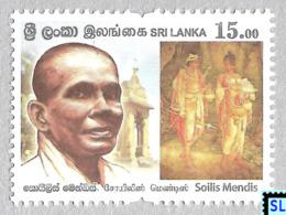 Sri Lanka Stamps 2019, Soilis Mendis, Art, Buddha, Buddhism, MNH - Sri Lanka (Ceylon) (1948-...)