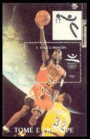 Olympics 1992 - Basketball - SAO TOME - S/S MNH - Summer 1992: Barcelona