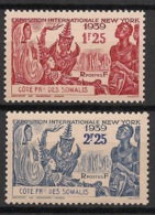 Côte Des Somalis - 1939 - N°Yv. 170 à 171 - Expo New York - Neuf Luxe ** / MNH / Postfrisch - Côte Française Des Somalis (1894-1967)