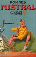 @@@ MAGNET - Pompes Mistral Bicycle - Advertising