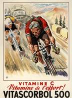 @@@ MAGNET - Vitascorbol 500, Bicycle Race - Advertising