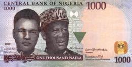 "NIGERIA 1000 Naira 2018 EXF P-36 ""free Shipping Via Regular Air Mail (buyer Risk)"" - Nigeria"