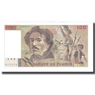France, 100 Francs, Delacroix, 1993, BRUNEEL, BONARDIN, VIGIER, SPL - 1962-1997 ''Francs''