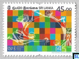 Sri Lanka Stamps 2019, Universal Postal Union, MNH - Sri Lanka (Ceylon) (1948-...)