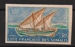 Côte Des Somalis - 1964 - Poste Aérienne PA N°Yv. 40 - Zeima / Ship - Non Dentelé / Imperf. - Neuf Luxe ** / MNH - Costa Francesa De Somalia (1894-1967)