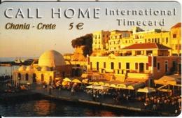 GREECE - Chania/Crete, Satline Prepaid Card 5 Euro, Exp.date 31/12/03, Used - Landschaften