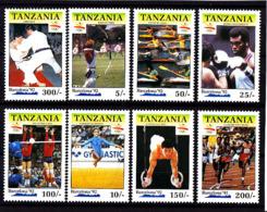 Olympics 1992 - Judo - TANZANIA - Set MNH - Summer 1992: Barcelona