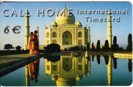 GREECE - Tajmahal, Call Home By Satline Prepaid Card 6 Euro, Tirage 5000, Exp.date 31/12/03, Used - Paysages