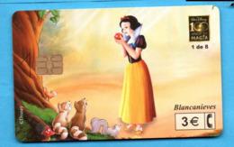 SPAIN Chip Phonecard  DISNEY - Disney
