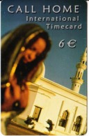 GREECE - Call Home By Satline Prepaid Card 6 Euro, Tirage 5000, Exp.date 31/12/03, Used - Griekenland