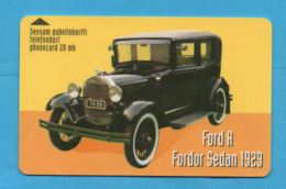 FINLAND Magnetic Phonecard  CAR - Finland