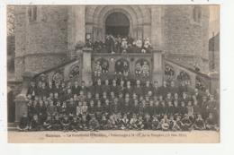 RENNES - LE PENSIONNAT ST ETIENNE - PELERINAGE A N.D DE LA PEINIERE (19 JUIN 1913) - Rennes