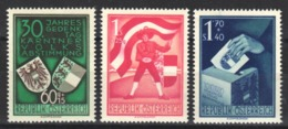 1950 Yvert Nº 788 / 790  MH - 1945-.... 2ª República