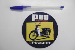 Autocollants Stickers - Mobylette PEUGEOT P 80 Automatic - Autocollants