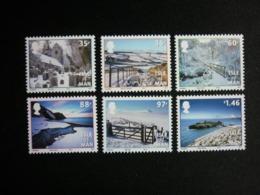 ISLE OF MAN, 2010 Photographs Of Snowfall Of 2009-2010 Scott #1401-1406 MNH Cv. 15,50$ - Isola Di Man