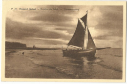 _9Dp629: Nieuport (bains) - Coucher Du Soleil - Zonsondergand - Nieuwpoort