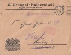 DR Brief Gebühr Bezahlt Halberstadt 30.8.23 - Deutschland