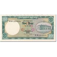 Billet, Bangladesh, 20 Taka, 1988, Undated (1988), KM:27b, TTB - Bangladesh