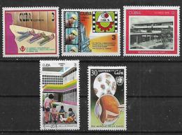 1976 Cuba Salud Health Dia Mundial  Congreso De Obstetricia Y Ginecologia 2v. Nuevos - Health