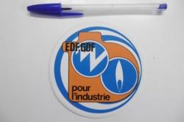 Autocollants Stickers - EDF GDF Pour L'INDUSTRIE - Stickers