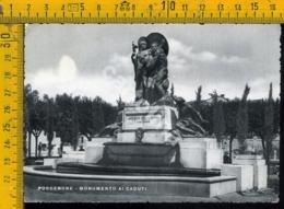 Pordenone Città Monumento Ai Caduti - Pordenone